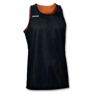 Camiseta  Joma Reversible Aro S/M Naranja-Negra