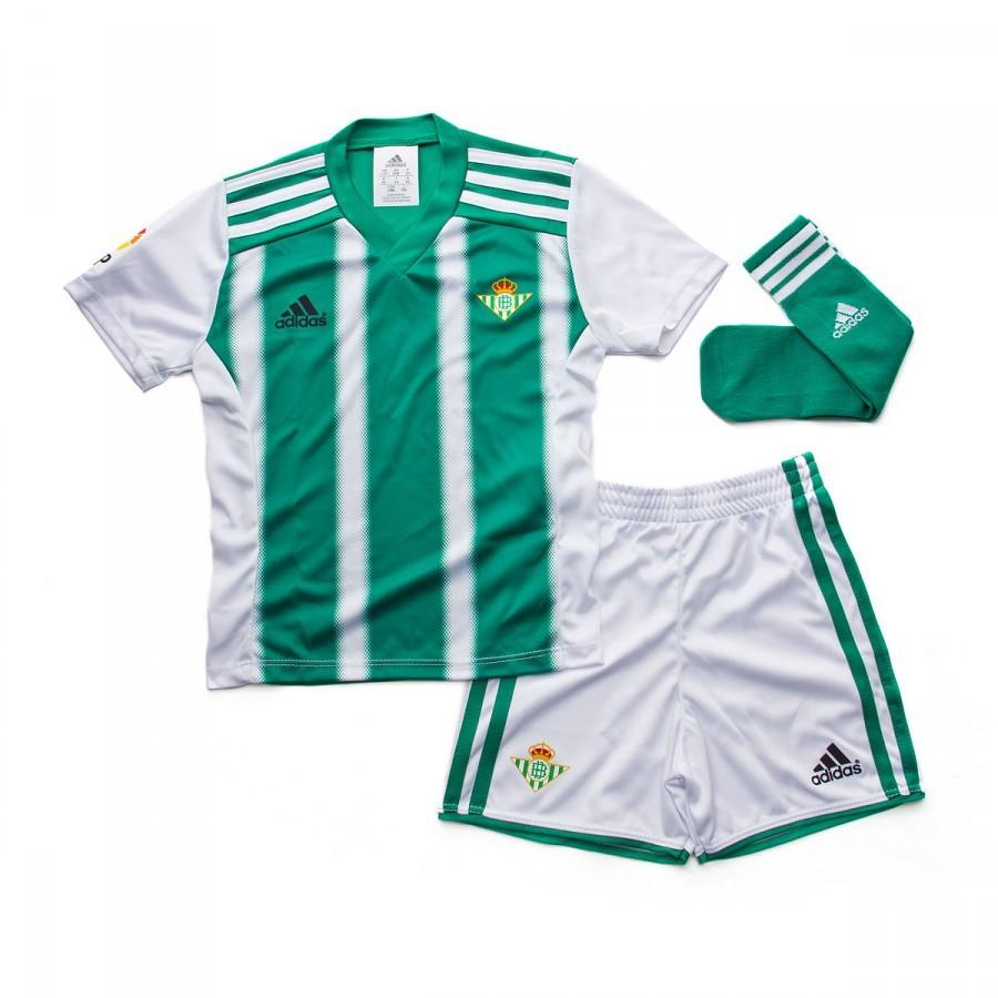 Real 15 Minikit 16 Primera Conjunto Adidas Betis Equipación Niño fER4Pq