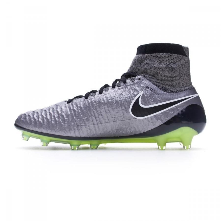 watch 9bf5b 742da Boot Nike Magista Obra ACC FG Metallic pewter-Black-White-Ghost green -  Football store Fútbol Emotion