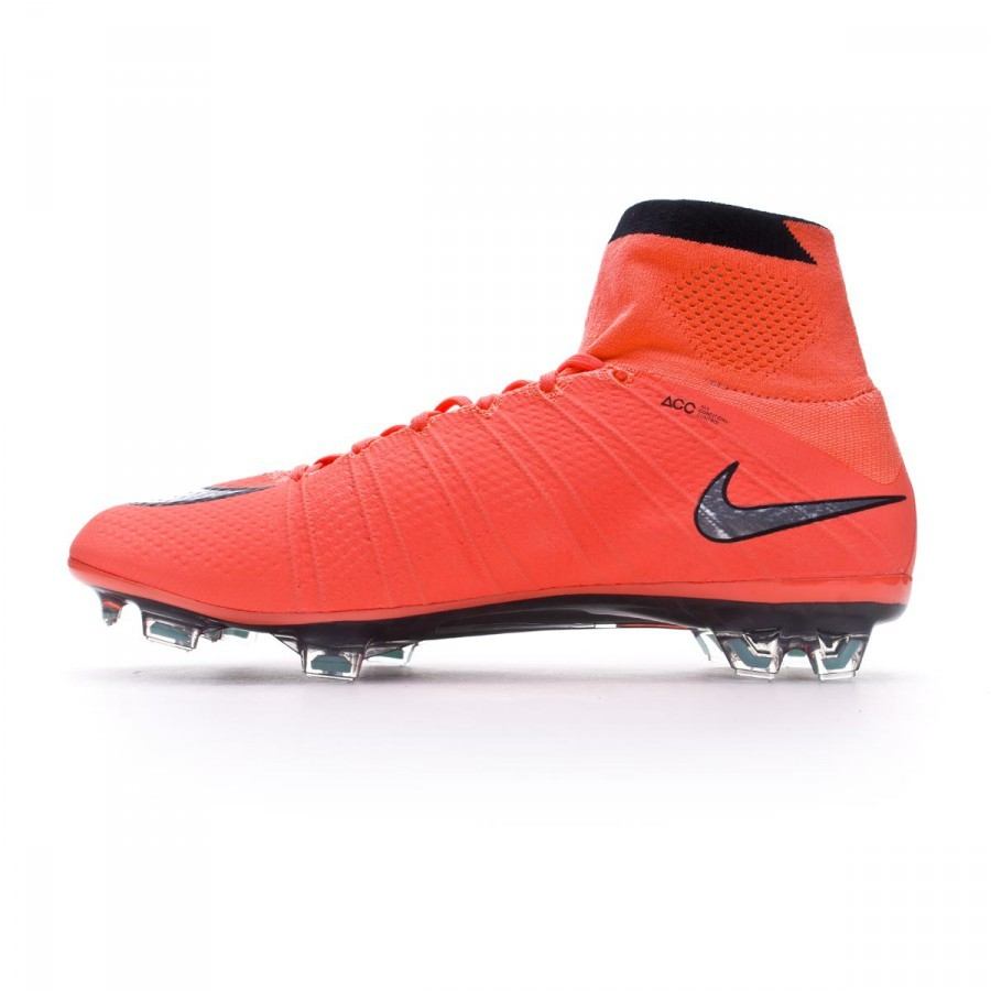 Bota Mercurial Superfly ACC FG Bright mango Metallic silver Hyper turquoise