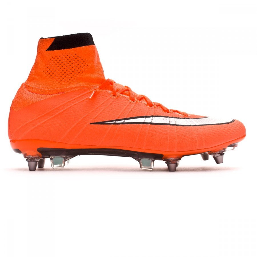580b1b5dee28 Football Boots Nike Mercurial Superfly ACC SG-Pro Bright mango-Metallic  silver-Hyper turquoise - Football store Fútbol Emotion
