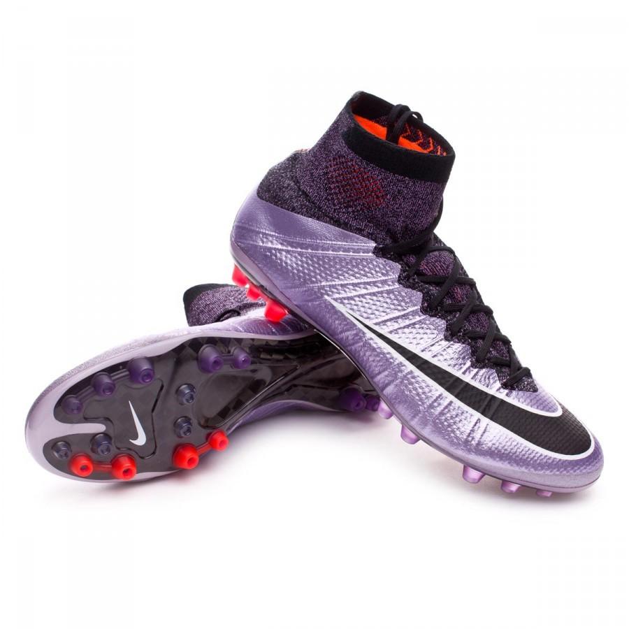 eea3bf1c563 Nike Mercurial Superfly ACC AG-R Football Boots. Urban lilac-Black-Bright  mango ...
