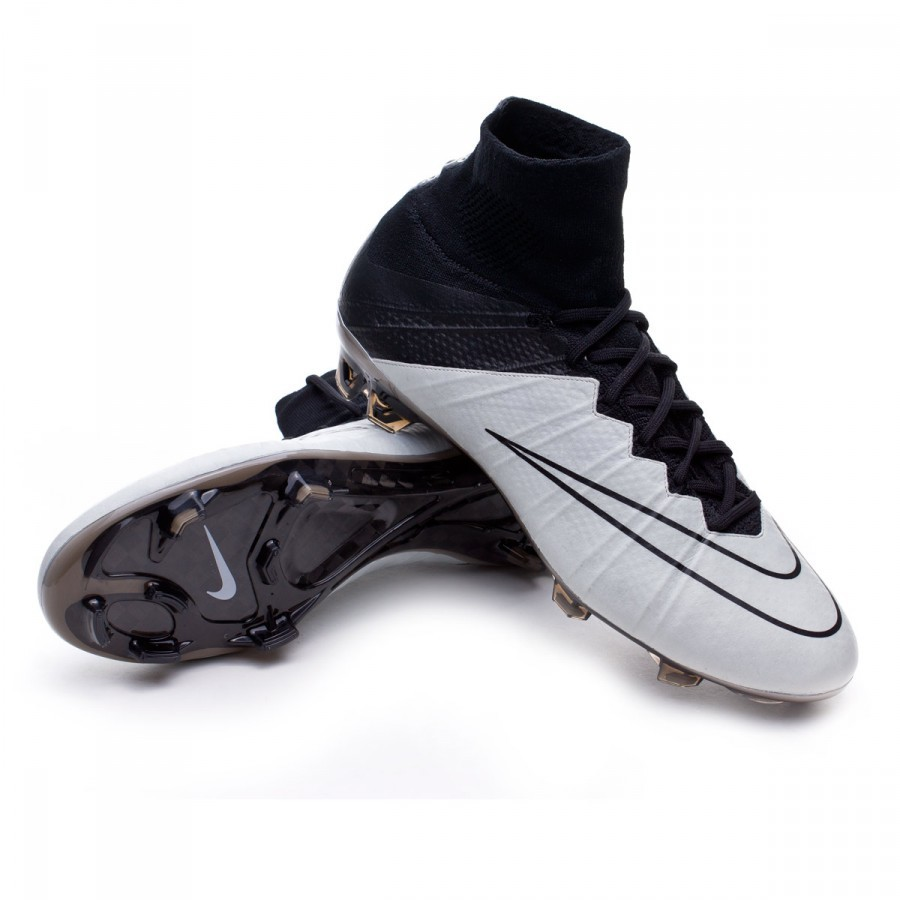... nike mercurial superfly leather fg tech craft light bone black