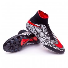 Hypervenom Phantom II ACC Neymar AG-R Black-Bright crimson-White