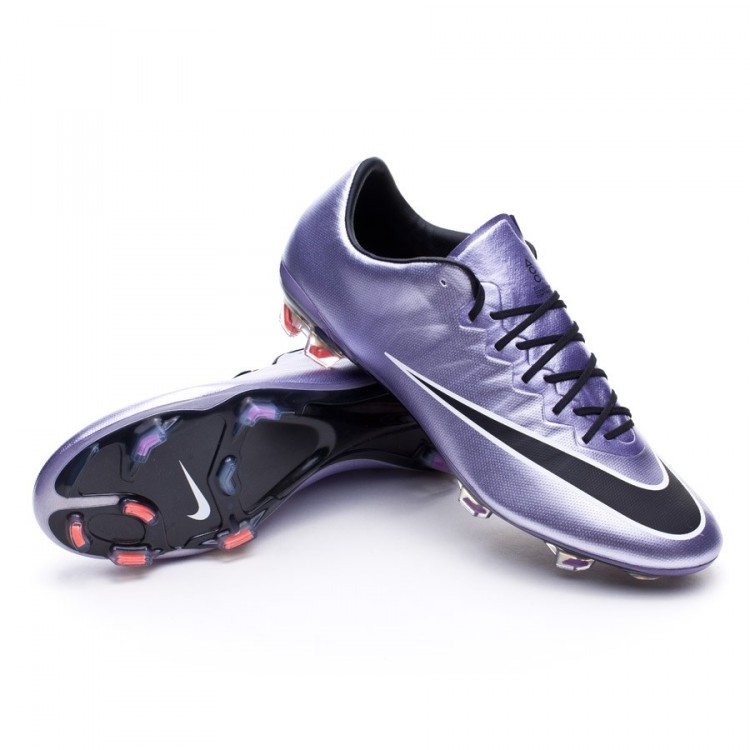 62d4044ed1a Football Boots Nike Mercurial Vapor X ACC FG Urban lilac-Black ...