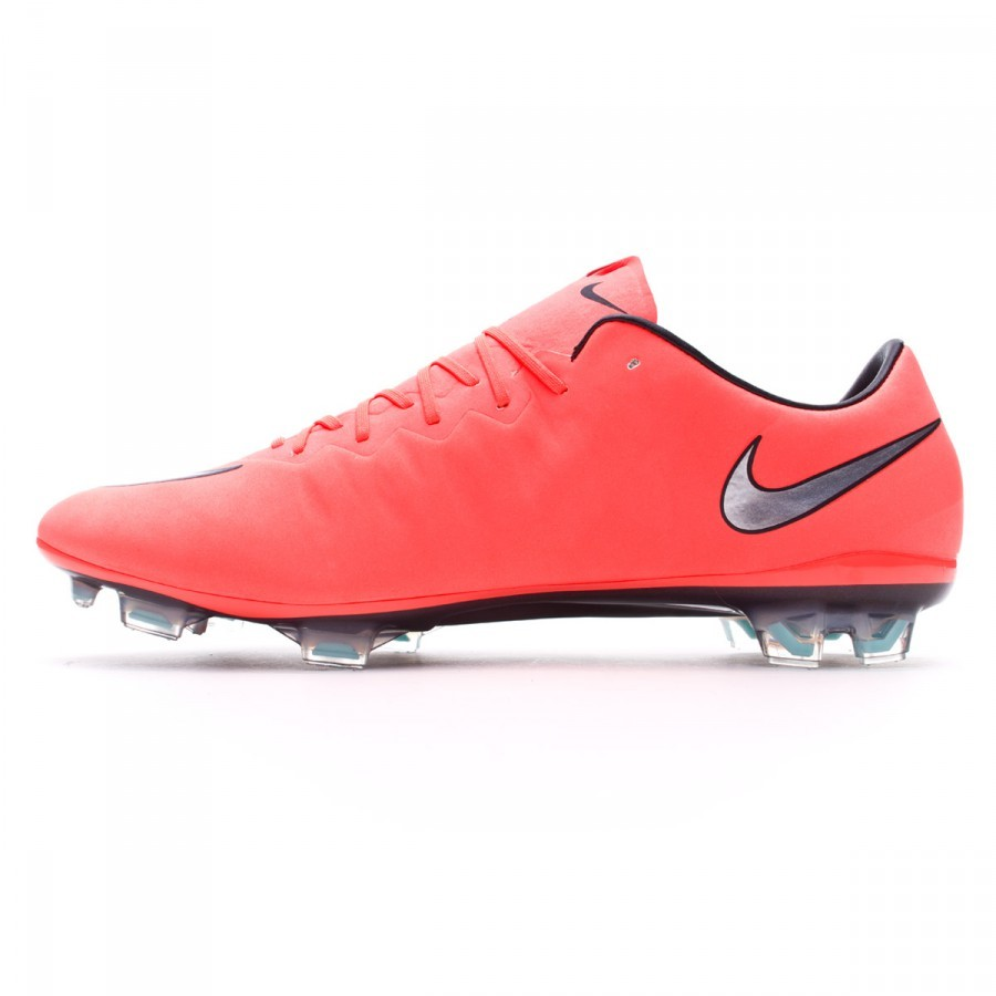 cheap for discount 80913 ae6a1 Boot Nike Mercurial Vapor X ACC FG Bright mango-Metallic silver-Hyper  turquoise - Football store Fútbol Emotion