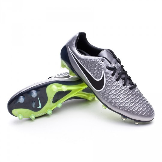 Bota  Nike Magista Opus ACC FG Metallic pewter-Black-White-Ghost green