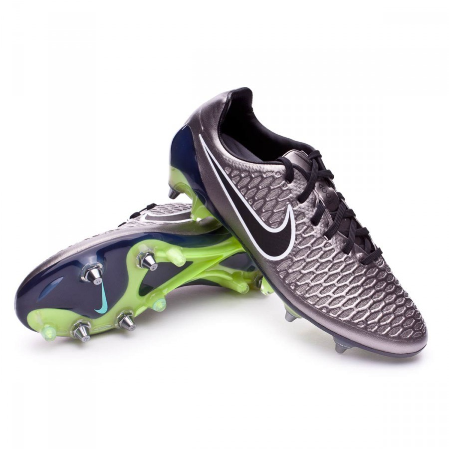 Boot Nike Magista Opus ACC SG-Pro Metallic pewter-Black-White-Ghost green -  Leaked soccer 1ae9f858e