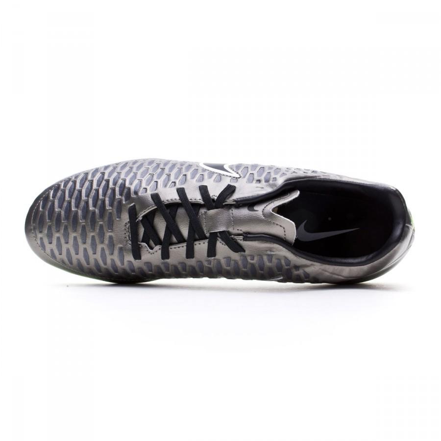 85ffd913d20 Football Boots Nike Magista Onda FG Metallic pewter-Black-White-Ghost green  - Football store Fútbol Emotion
