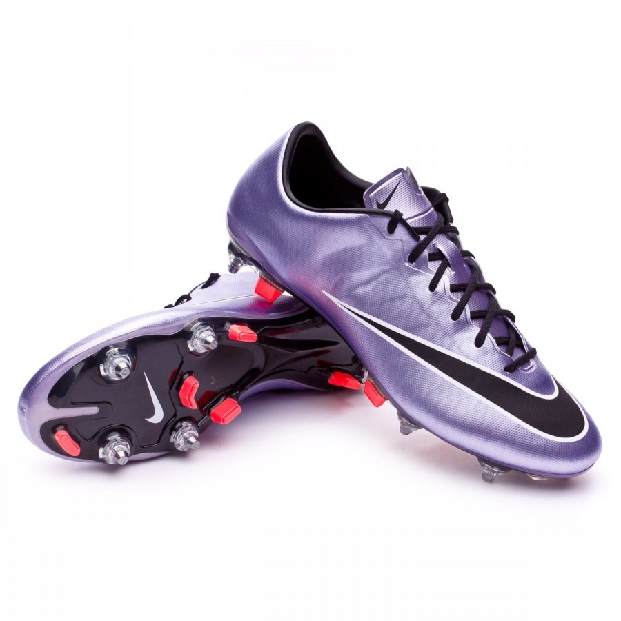 Boot Nike Mercurial Veloce II SG-Pro Urban lilac-Black-Bright mango -  Soloporteros is now Fútbol Emotion