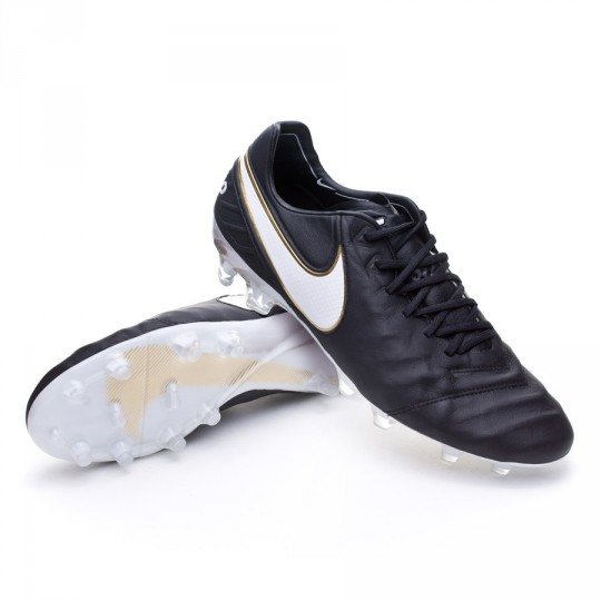 Bota  Nike Tiempo Legend 6 ACC FG Black-White-Metallic gold