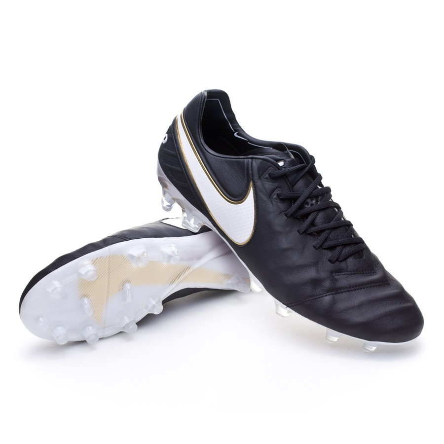 new product b49e8 862c0 Nike Tiempo Legend VI ACC FG Boot. Black-White-Metallic ...