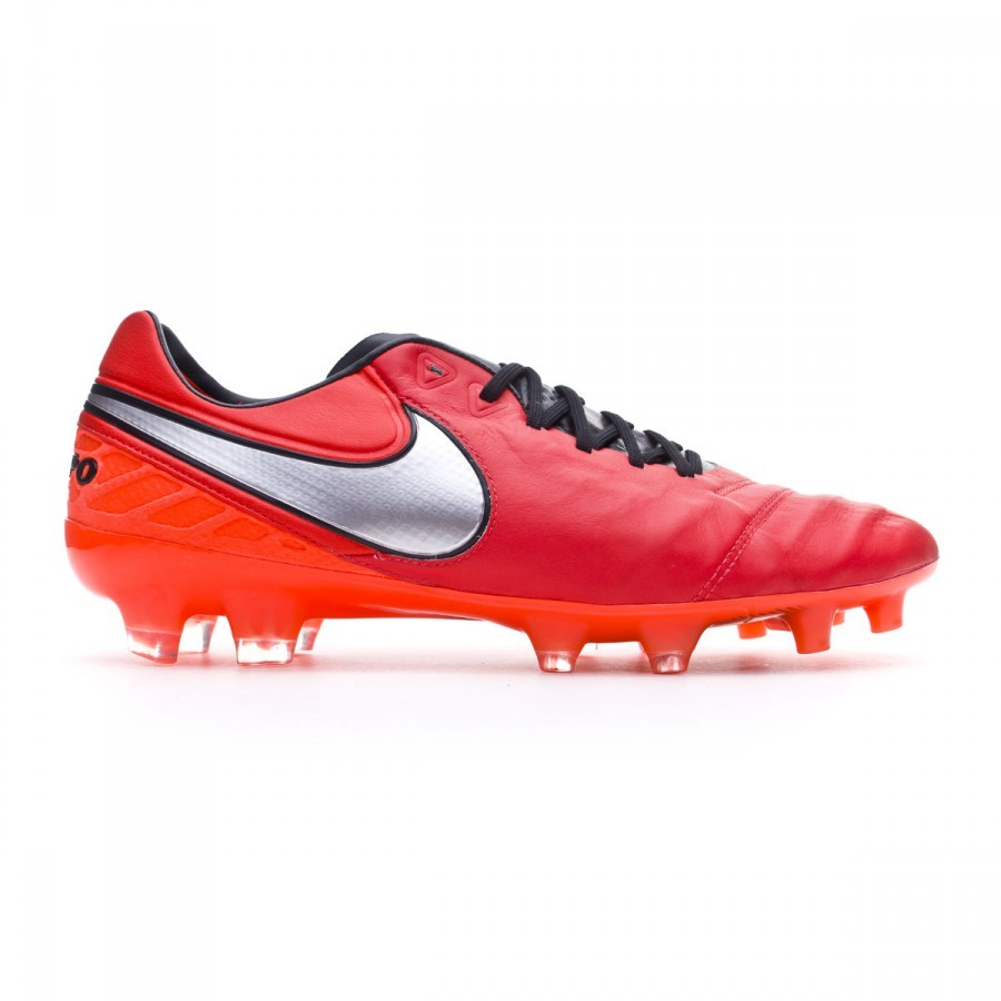 4820e0c403d75 Football Boots Nike Tiempo Legend 6 ACC FG Light crimson-Metallic silver -  Football store Fútbol Emotion