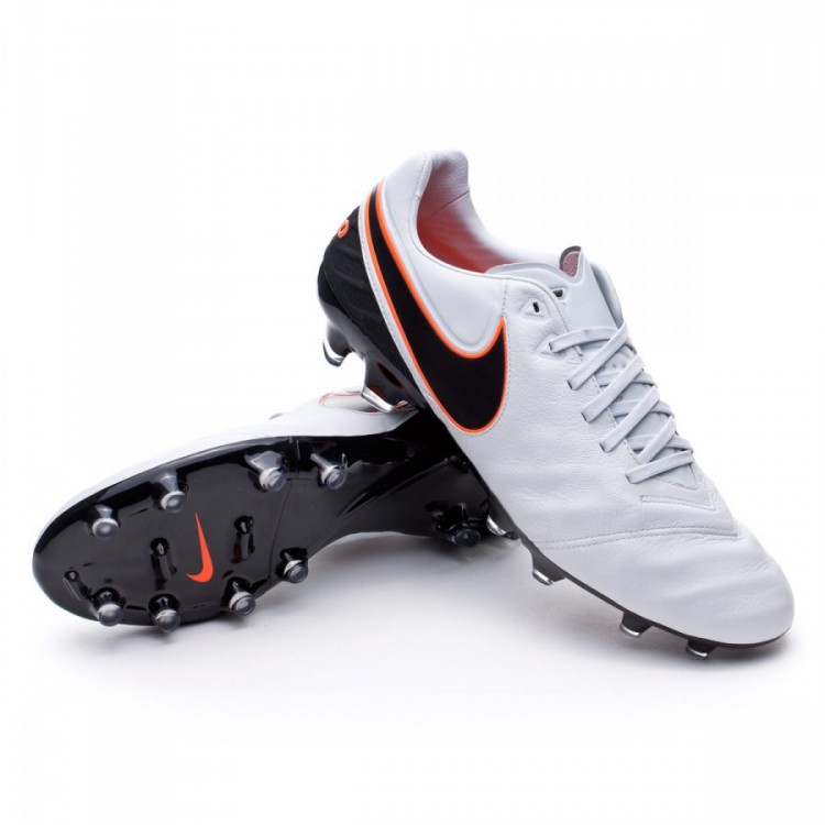 Bota de fútbol Nike Tiempo Legacy II FG Pure platinum-Black-Metallic ... c50f0e245a4af