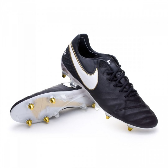Scarpa  Nike Tiempo Legend 6 ACC SG-Pro Black-White-Metallic gold