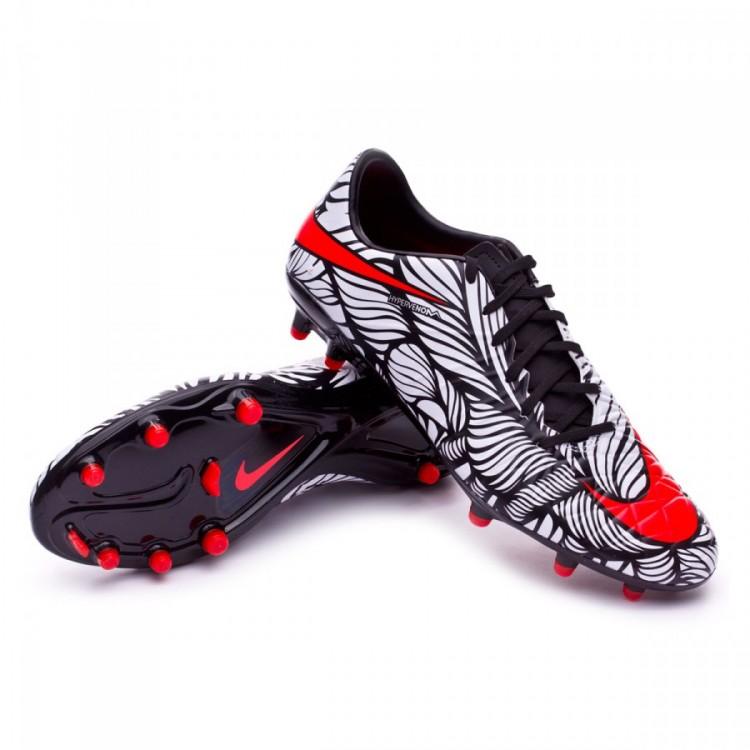 eda4c476d2c55 Zapatos de fútbol Nike Hypervenom Phatal II Neymar FG Black-Bright ...