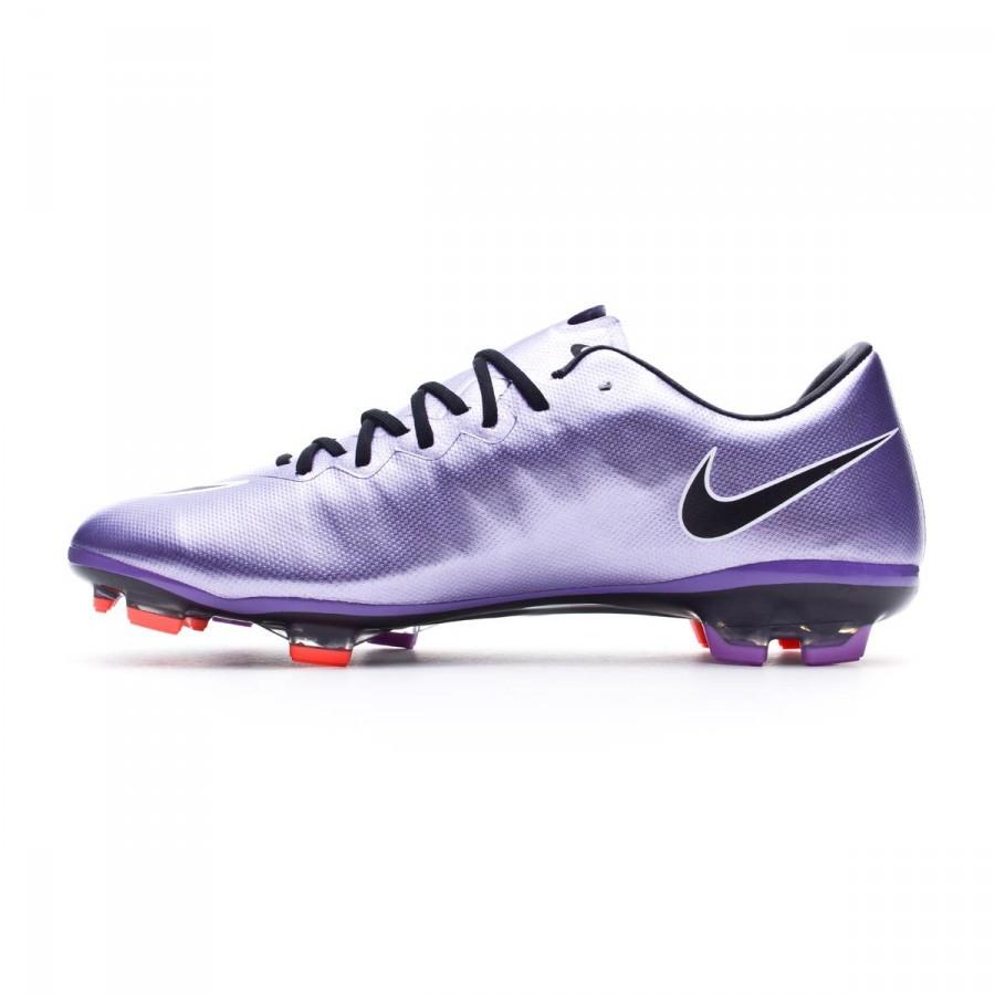 c81adb6c957 Football Boots Nike Jr Mercurial Vapor X ACC FG Urban lilac-Black-Bright  mango - Football store Fútbol Emotion
