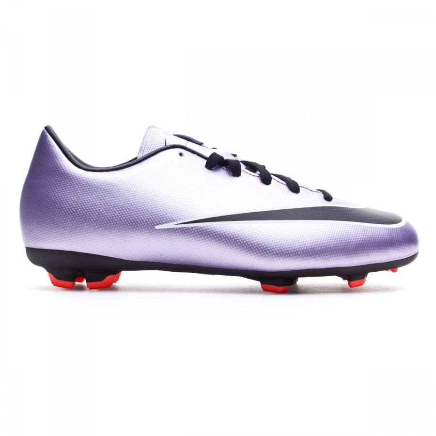 Bota de fútbol Nike Mercurial Victory V FG Niño Urban lilac-Black-Bright  mango - Leaked soccer 75a56c1ce6203