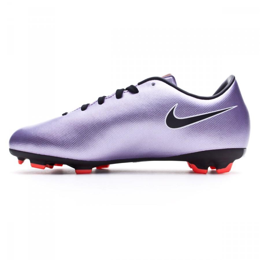 Bota de fútbol Nike Mercurial Victory V FG Niño Urban lilac-Black-Bright  mango - Leaked soccer 56a63bae736a6