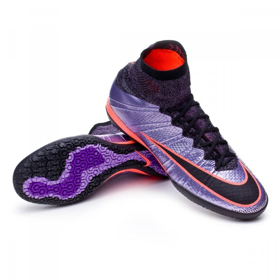 Sapatilha de Futsal Nike Mercurial X Proximo IC Urban lilac-Black ... 5ba8c79413d4e