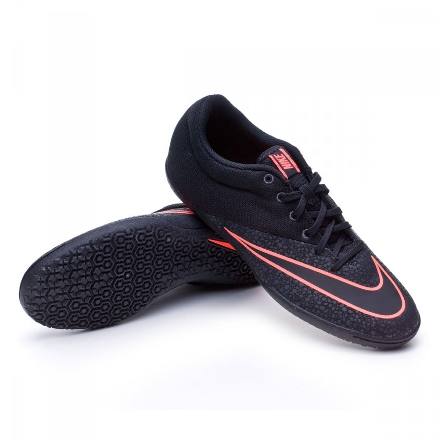 8310ee3e7 Futsal Boot Nike MercurialX Pro IC Black-Anthracita-Bright mango ...