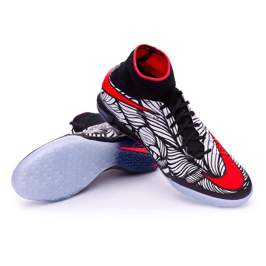 check out fca8a 8dbfe Zapatilla Nike HypervenomX Proximo Neymar IC Black-Bright crimson-White -  Tienda de fútbol Fútbol Emotion