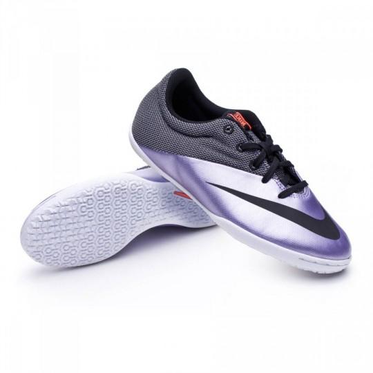 Zapatilla de fútbol sala  Nike Jr MercurialX Pro IC Urban lilac-Black-Bright mango