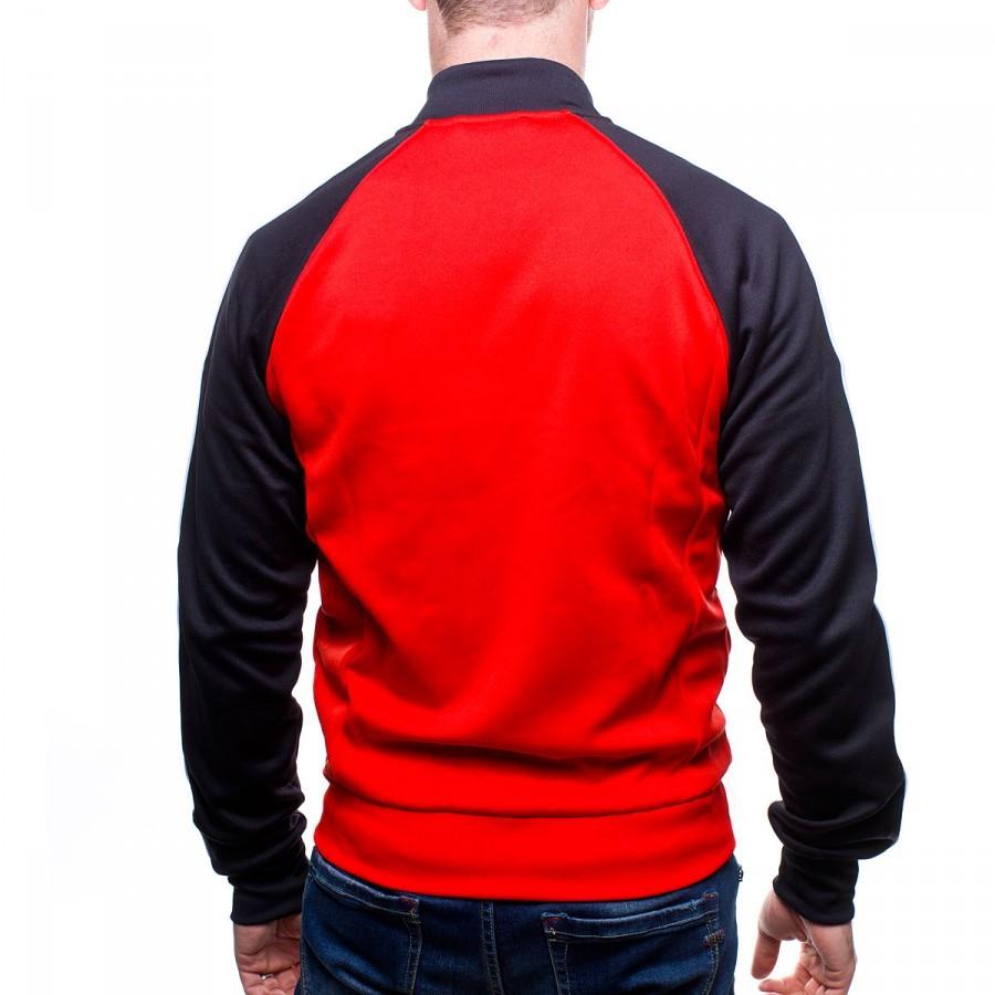 Jacket adidas MU SST Red-Black - Football store Fútbol Emotion 4d9d00d15e866