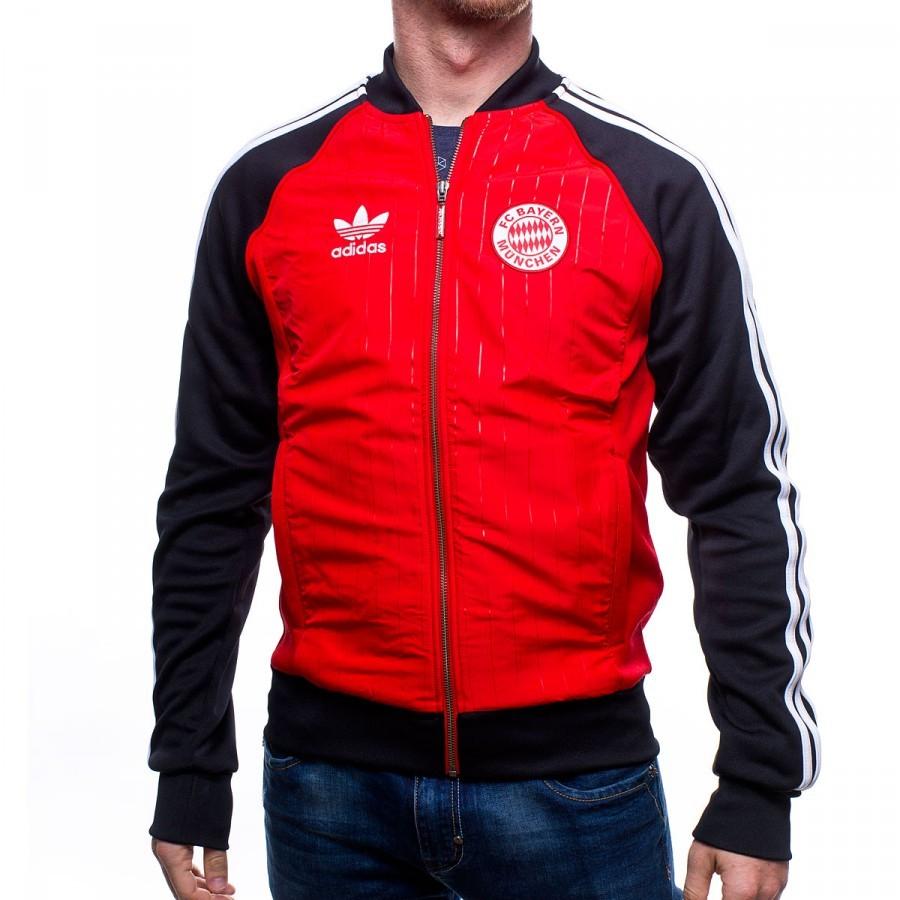 Es Soloporteros Roja Adidas Fútbol Sst Fcb Chaqueta Ahora Negra nwACTqqx
