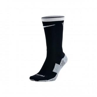 Meias  Nike Dry Squad Crew Football Black-White