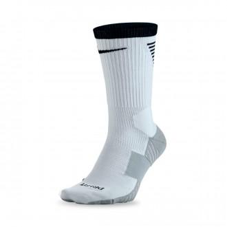 Meias  Nike Dry Squad Crew Football White-Black