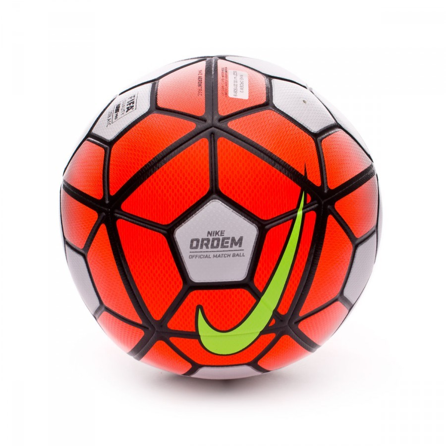 898906af5a72d Ball Nike Ordem 3 White-Total orange-Black - Tienda de fútbol Fútbol ...