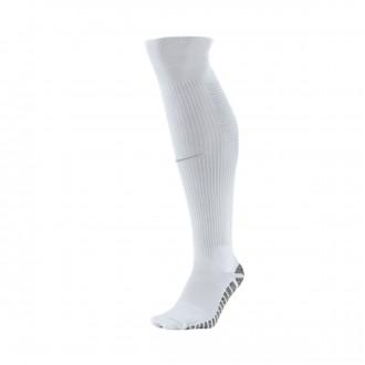 Meias  Nike Grip Stroke OTC White-Wolf grey