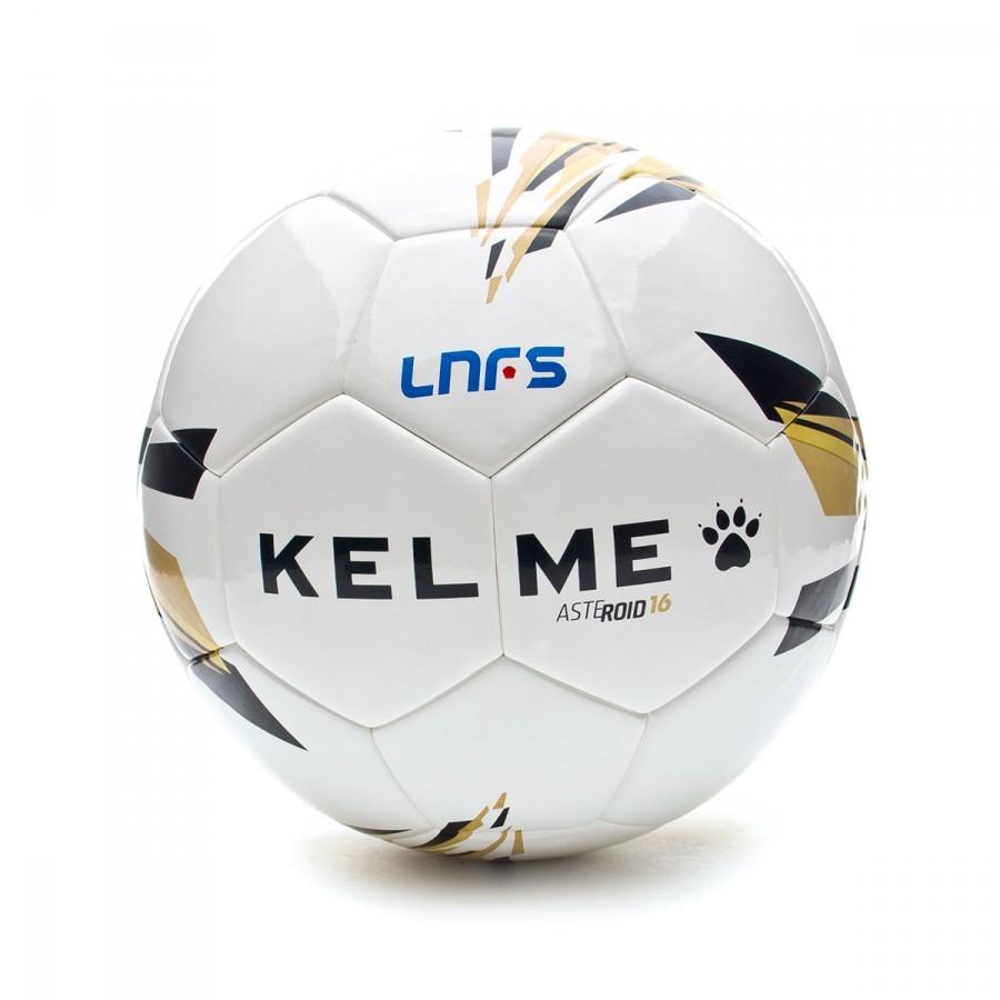 71fb27908f50f Balón Kelme Réplica Asteroid LNFS 15-16 Blanco - Tienda de fútbol Fútbol  Emotion