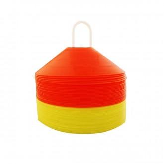 Jim Sports Set 48 Cones Chineses Naranja/Amarillo