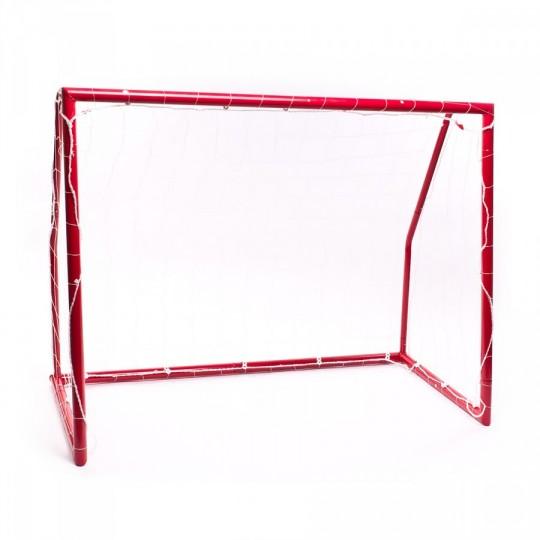 Jim Sports Portería Multiusos Metálica 140 x 105 cm Rojo