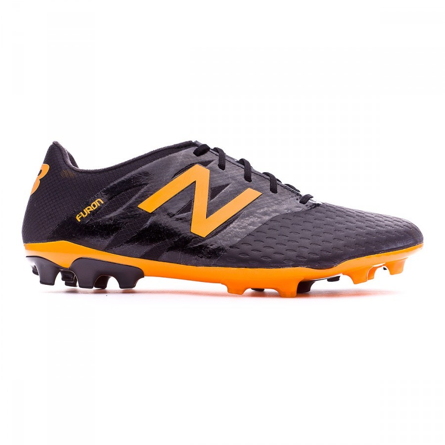 da136f362 Football Boots New Balance Furon Pro AG Black-Orange - Football store  Fútbol Emotion