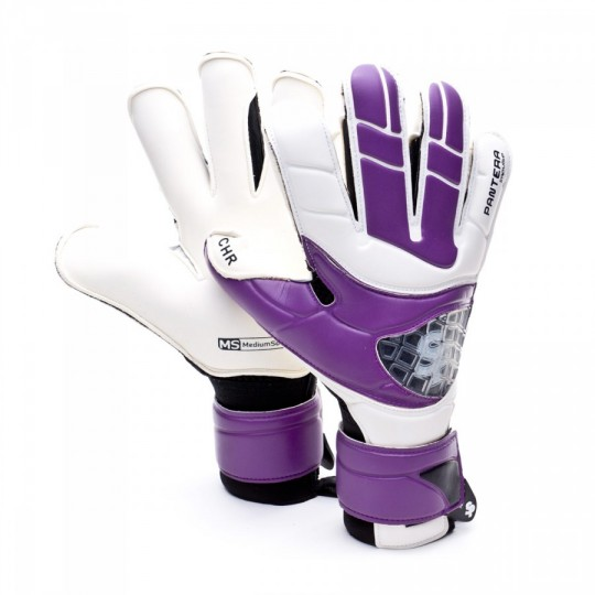 Guante  SP Pantera Impulse CHR Iconic Blanco-Morado