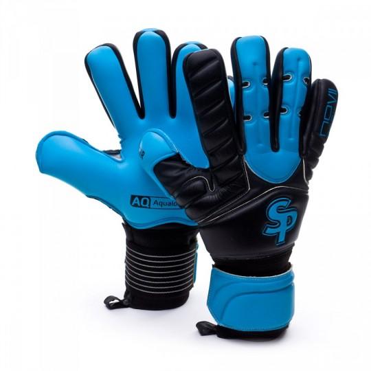 Guante  SP No Goal VII CHR Aqualove Negro-Azul