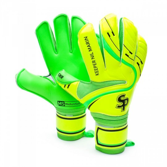 Guante  SP Keeper Nil Marin 2016 CHR Flat Amarillo-Verde