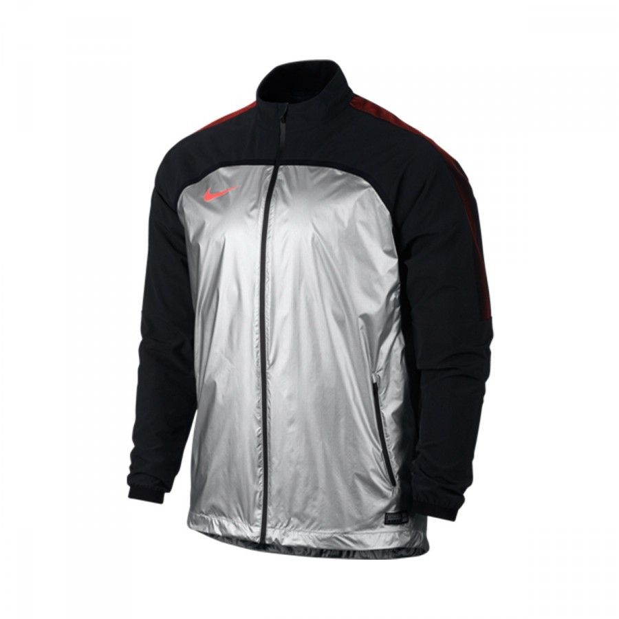 091c932b0636 Jacket Nike Revolution Woven Elite II Metalic Silver-Black-Hyper ...