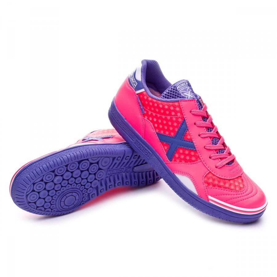 5705813dc Futsal Boot Munich G3.5 x-feel Fuchsia-Blue - Football store Fútbol ...