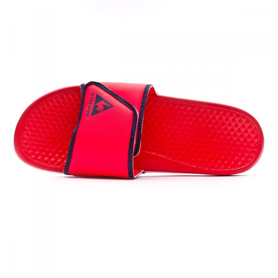 255c21e7976 Flip-flops Le coq sportif Laclaquette classic Fluoro red - Football store  Fútbol Emotion