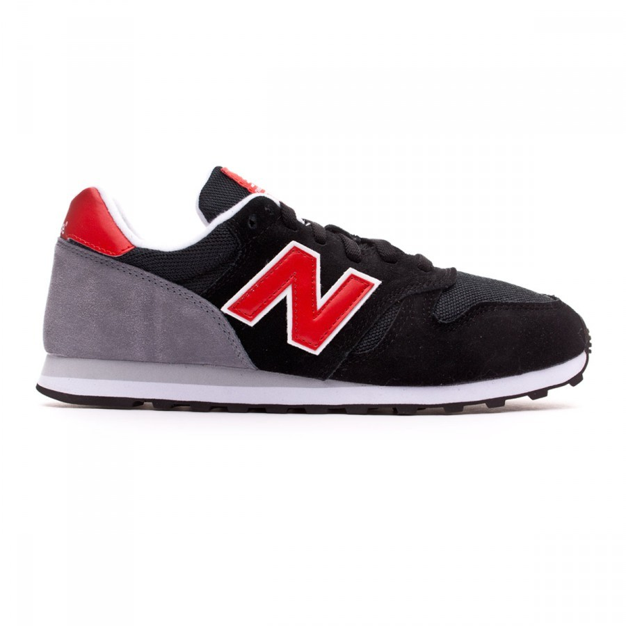 new balance 373 black red