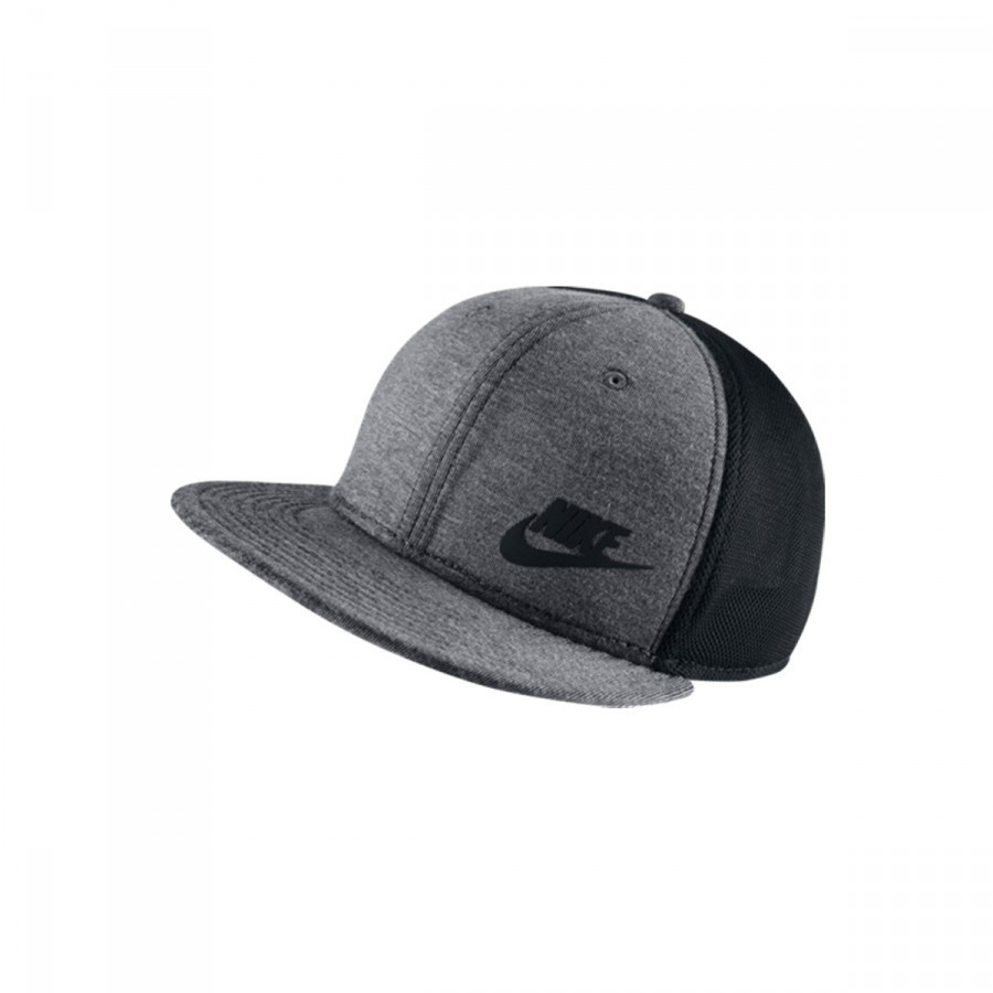5d8642a6 Cap Nike Tech True Gray-Black - Tienda de fútbol Fútbol Emotion