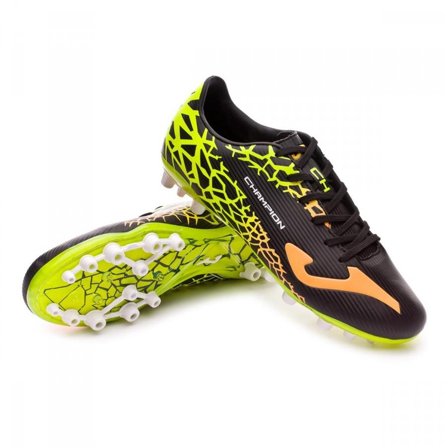 6ede5ea53bfcf Football Boots Joma Champion Cup AG Black-Orange - Football store ...