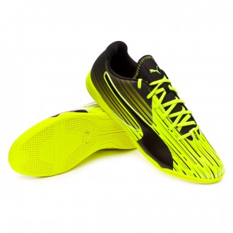 Zapatilla de fútbol sala  Puma Meteor Sala Safety yellow-Black-Atomic blue
