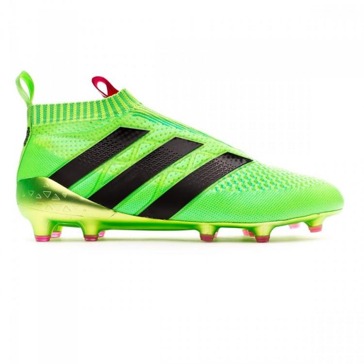montar Molestia Th  Football Boots adidas Ace 16+ Purecontrol FG/AG Solar green - Football  store Fútbol Emotion