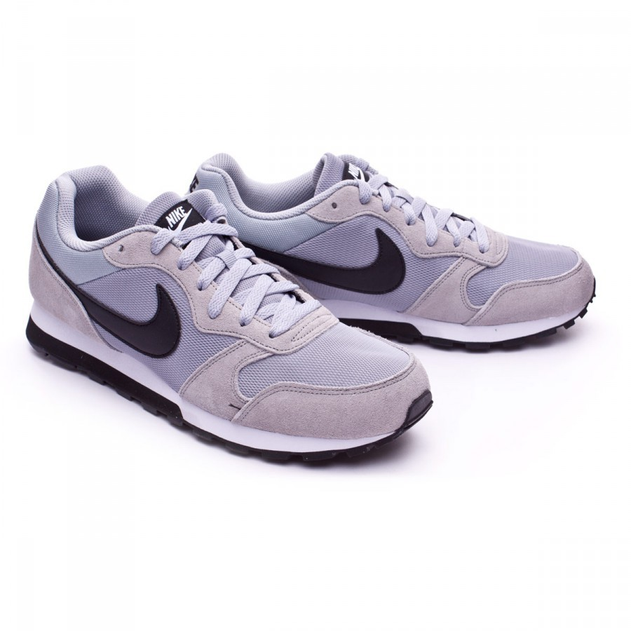 84d5c634c8b Trainers Nike MD Runner 2 Wolf grey-Black-White - Football store ...