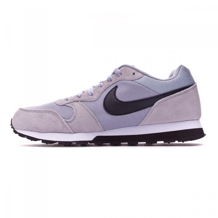 df28d7dbee4 Trainers Nike MD Runner 2 Wolf grey-Black-White - Football store Fútbol  Emotion
